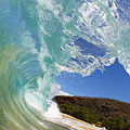 Wave Breaking by MakenaStockMedia - Printscapes