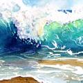 Wave Color by Carlin Blahnik CarlinArtWatercolor