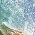 Wave Tube Along Shore by MakenaStockMedia - Printscapes