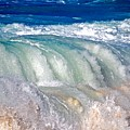 Wave Waterfall, Sunset Beach, Hawai'i by Debra Banks