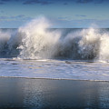 Waves Against The Wind by William Bader