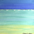 Waves Breaking At Sea by Robyn Saunders