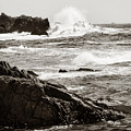 Waves Crashing by Marilyn Hunt