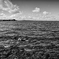 Waves Malaren Bw.  by Leif Sohlman
