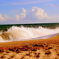 Waves Of Edisto  by Trudi Southerland