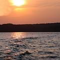 Waves On Greers Ferry Lake by Kenna Westerman