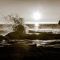 Waves Over Cavendish Sandstone by Chris Bordeleau