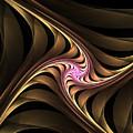 Waves With Pink by Deborah Benoit
