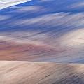 Wavy Hills Abstract. Moravian Tuscany by Jenny Rainbow