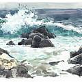 Wawaloli Beach, Hawaii by Judith Kunzle