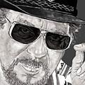 Waylon Jennings by Bill Richards