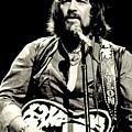 Waylon Jennings In Concert, C. 1976 by Everett