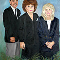 Wc Brown Adult Children Commissioned Portrait by Anne Cameron Cutri