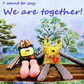 We Are Together by Yana Sadykova