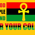 Wear Red Black And Green by Adenike AmenRa