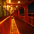 Weather Deck Starboard Side Night by Robert McCulloch