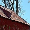 Weathered Barn Roof- Fine Art by KayeCee Spain