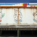Weathered Clowns by Mary Haber
