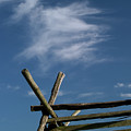 Weathered Fence by Judi Quelland