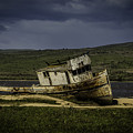 Weathered Fishing Boat by Garry Gay