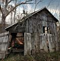Weathered Old Abandoned Barn by Leon Winkowski