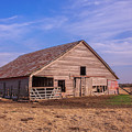 Weathered Old Barn by Sue Huffer