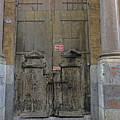 Weathered Old Door On A Building In Palermo Sicily by Richard Rosenshein
