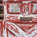 Weathered Red Door 1 by Deborah Brown