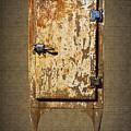 Weathered Rusty Refrigerator by Nick Gray