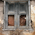 Weathered Wood Window by Robert Hamm