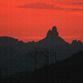 Weaver Needle Sunset by Tom Janca