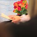 Wedding Hands by Kelly Mezzapelle