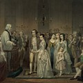 Wedding Of George Washington And Martha by Everett