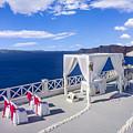 Wedding On The Greek Isles by Dennis Reyes