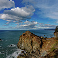 Wedding Rock Patrick Point by Mike Penney