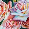 Wedding Roses by Gail Zavala