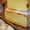 Wedges Of Ripe Cheese Wrapped by Anne Keiser