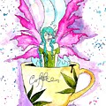Weed Fairy Naptime by Super Apple Pie