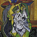 Picasso's Weeping Woman by James Lavott