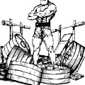 Weight Lifter by Keith Naquin