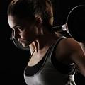 Weightlifting by Dorothy Binder
