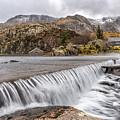 Weirs Rapids Snowdonia by Adrian Evans