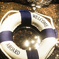 Welcome Aboard Nautical Paradise by Jorgo Photography - Wall Art Gallery