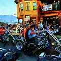 Welcome Bikers by Alice Gipson