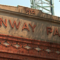Welcome To Fenway Park by Paul Mangold