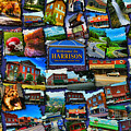 Welcome To Harrison Arkansas by Kathy Tarochione