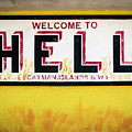 Welcome To Hell, Grand Cayman Island by Adam Romanowicz