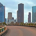 Welcome To Houston by Skyline Photos of America