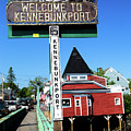 Welcome To Kennebunkport by Karol Livote