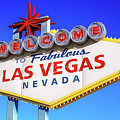 Welcome To Las Vegas Sign Only Boulder Highway Day by Aloha Art